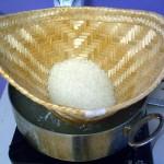 sticky rice steamer cone