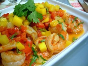 Shrimp with Spicy Beurre