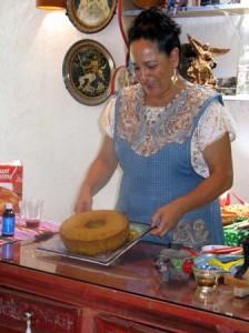 Cactus Paddle Cake