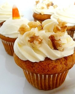 Pumpkin Cupcake Recipes pumpkin cupcake recipe | the sidedish cooking blog