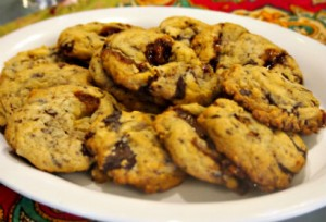 Chocolate Chip Cookies with Toffee