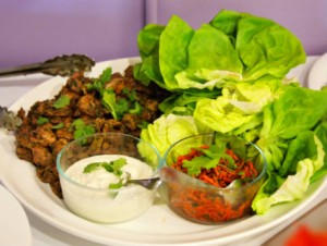 Turkish Lettuce Wraps