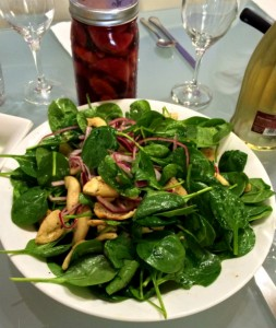 Cookbook Club Nov '13_spinach salad mini